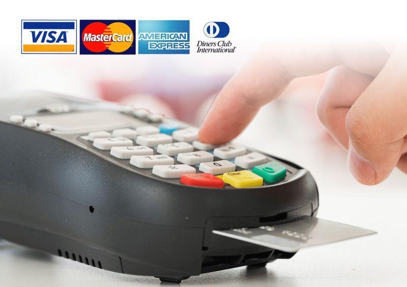 Recibimos todas las tarjetas de crédito